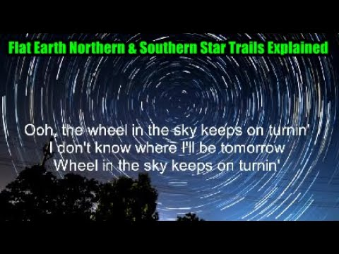 Flat Earth Northern & Southern Star Trails Explained - RV Truth Original