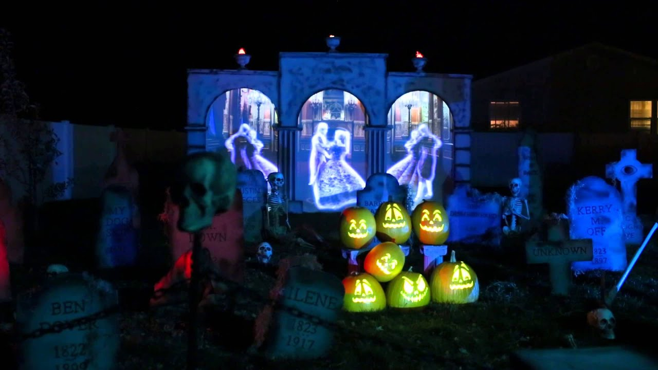 Halloween Projection Videos