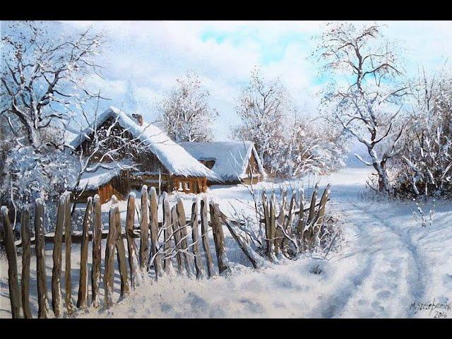 Изображение предпросмотра прочтения – ИльяЗаклепенко читает произведение «Деревенская избенка» С.А.Есенина