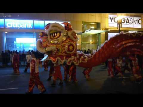 2016 Chinese New Year Parade San Francisco Dragon Finale