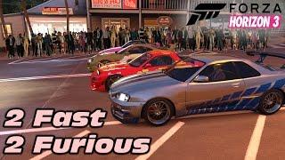 Forza Horizon 3 | Recreating 2 Fast 2 Furious