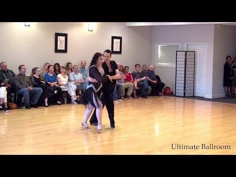 Merengue Show Dance at Ultimate Ballroom Dance Studio in Memphis
