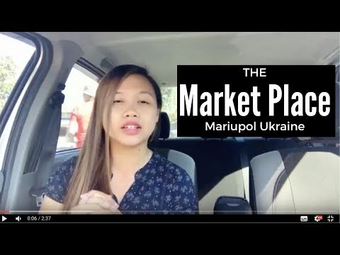 Let's go to the market place - Mariupol UKRAINE