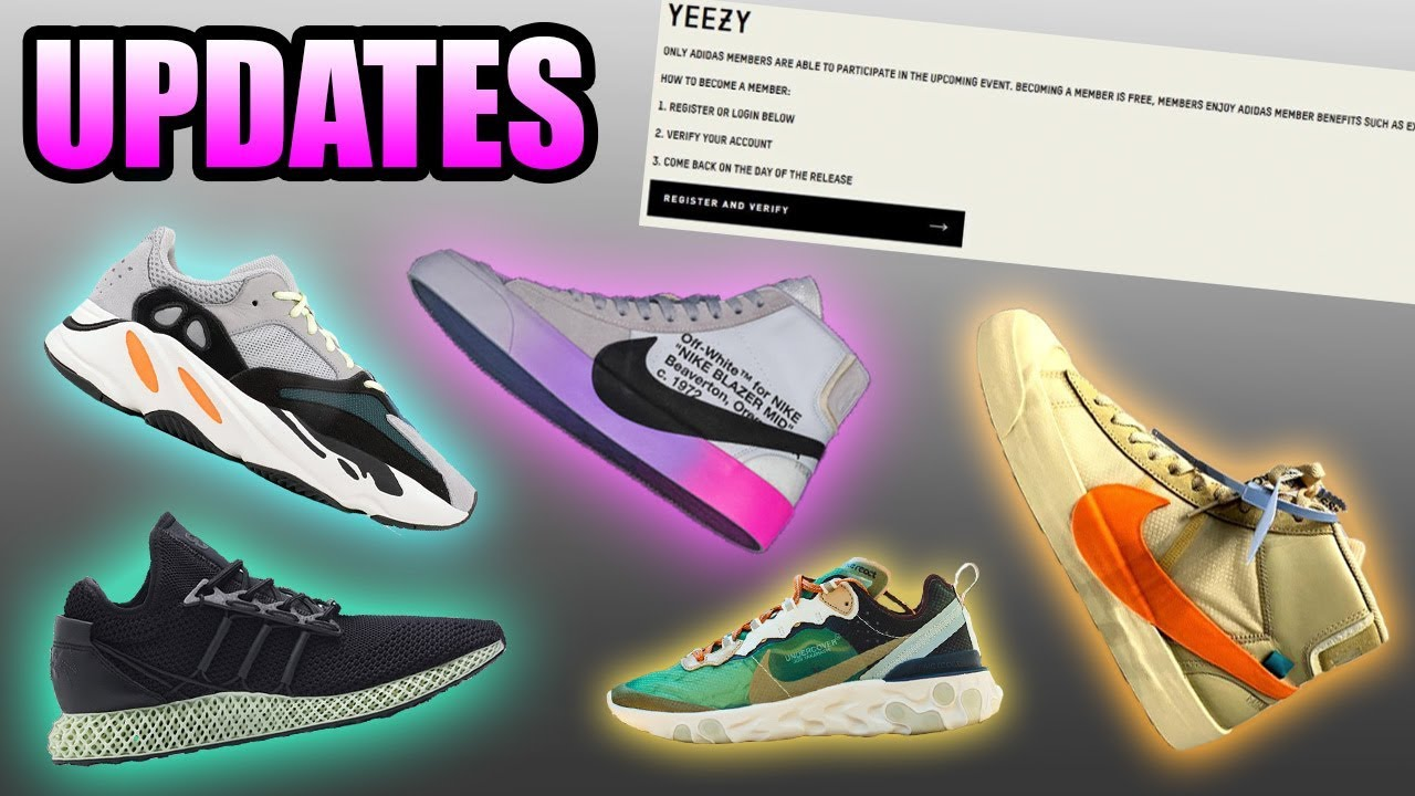 c54fc54310 Nike X Off White SERENA WILLIAMS BLAZERS Shock Drop ! | Adidas SMS  Verification | Sneaker Updates 3