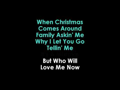 When Christmas Comes Around lyrics Karaoke Matt Terry