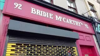 Bridie McCarthy Shop, Shandon Street   Cork Folklore and History