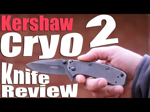 My Kershaw Cryo 2 Knife Review is 5 Years 2 L8.  A Rick Hinderererer Joint