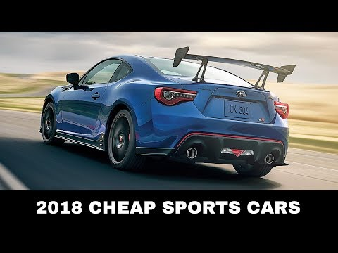 Top 10 Affordable Sports Cars You Should Buy in 2018