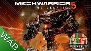 Mechwarrior 5 Mercenaries Review - They are not Robots! (Video Game Video Review)