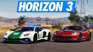 Forza Horizon 3 - Police VS Voleurs Dubaï !
