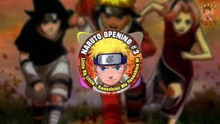 Naruto Opening 3 Little by Little - Kanashimi Wo Yasashisa Ni --- Hi-Res
