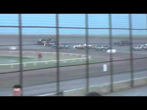 Route 66 Motor Speedway  StreetStock A-Main 7-21-12 part1