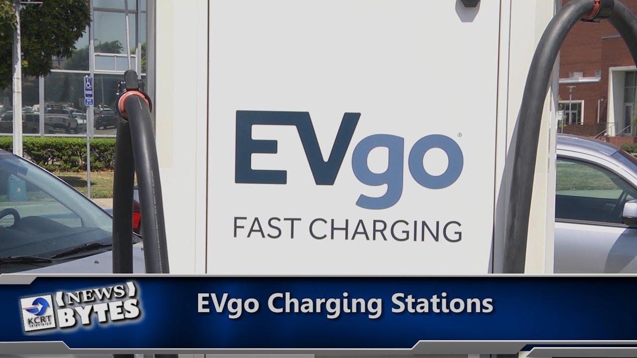 KCRT's NewsBytes: EVgo Charging