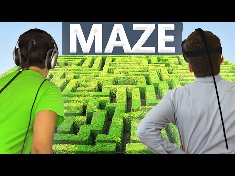 IMPOSSIBLE VR MAZE! (HTC VIVE)