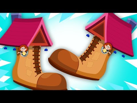 Old Woman Who Lived In A Shoe | Nursery Rhymes | Kindergarten | Videos For Babies by Kids Tv