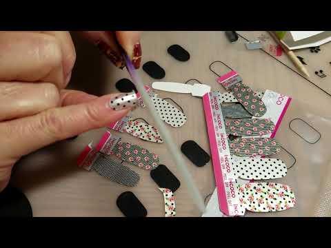 Applying Incoco Nail Wraps