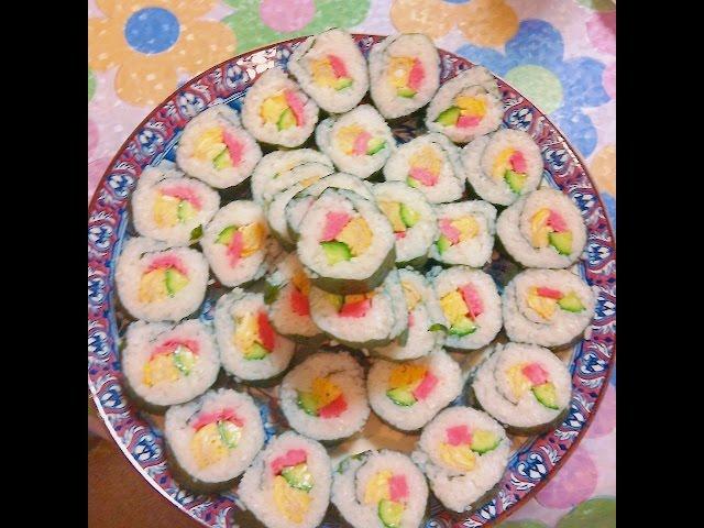 Norimaki ,sushi