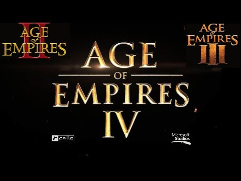 Age of Empires 4 - Age of Empires 1 & 2 & 3 Definitive Edition Announcement