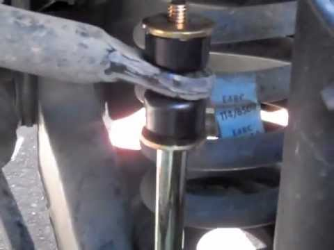 How To Replace Sway Bar End Links - YouTube