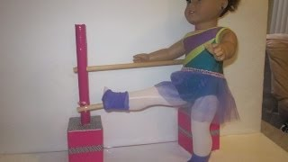 How To Make A Ballet Bar For Your American Girl Dolls