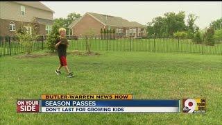 Kings Island season passes don't last for growing kids
