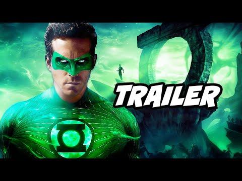 Green Lantern And The Flash Justice Society Trailer Breakdown - Stargirl Easter Eggs