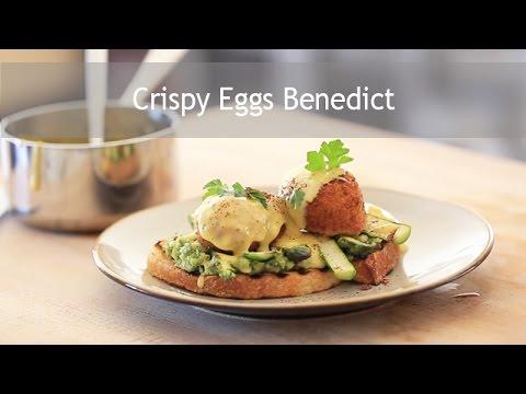 Make Crispy Eggs Benedict Pictures