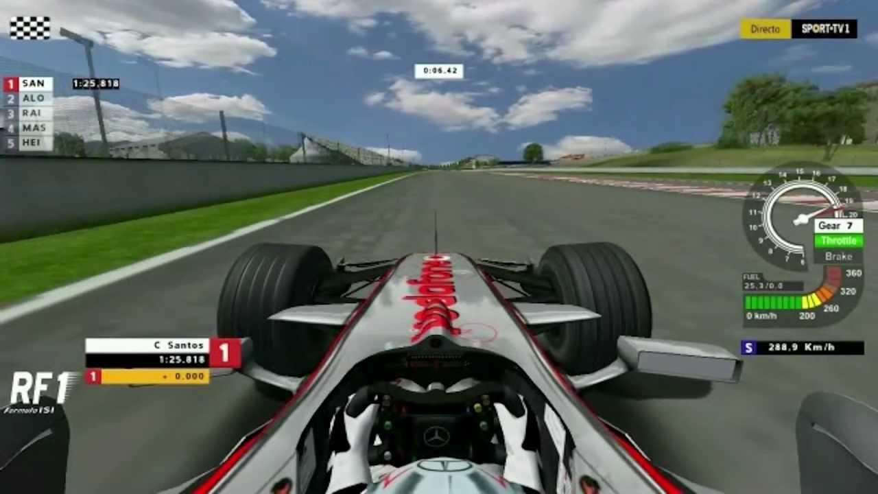 Rfactor F1 2008 Mod