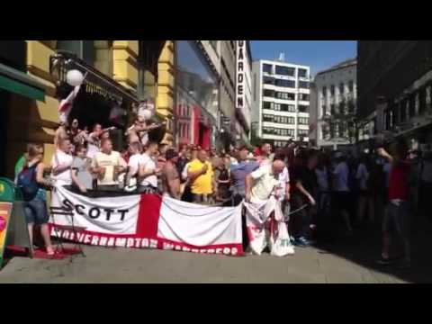 English fans in Oslo 2012