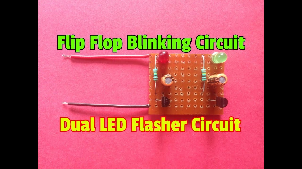 Led Flasher 2 Transistors