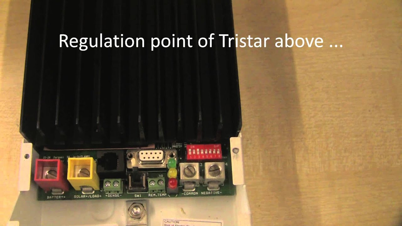 small resolution of configuring tristar charge controller