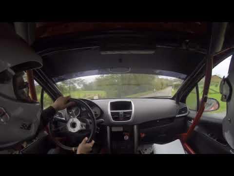 Rallye de Mettet 2017 ES 9 Saint Aubin Équipage Cheron - Andre