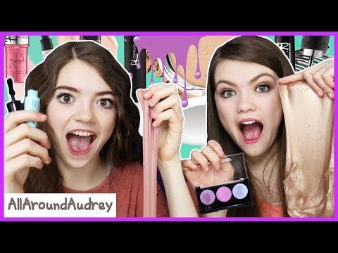 Slime Makeup Challenge! / AllAroundAudrey