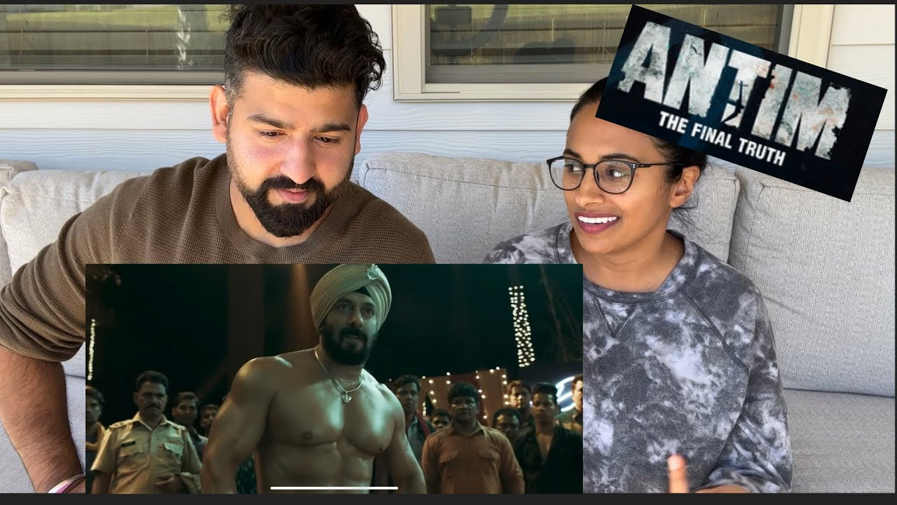 Download Antim - The Final Chapter Trailer Reaction | Salman Khan, Aayush Sharma | RajDeepLive