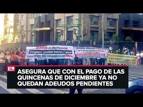 Pedro Fuentes habla sobre el pago a empleados del INBA