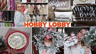 HOBBY LOBBY CHRISTMAS SHOPPING 2018 | SHOP WITH ME &  HUGE HAUL | Lauren Midgley