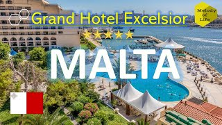 Grand Hotel Excelsior in Valletta-Malta, One of the most beautiful 5 stars hotels