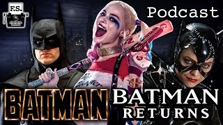 Harley Quinn & The Burton Batman Movies - FanScription Podcast