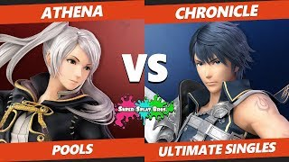 Smash Ultimate Tournament - TFL | Athena (Robin) Vs. OAK | Chronicle (Chrom, Roy) Splat Bros SSBU