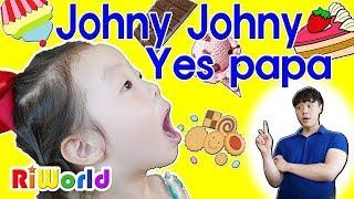 리원이의 죠니죠니 예스파파 Johny Johny Yes Papa songㅣ영어동요 동요모음 동요듣기 장난감 놀이 어린이 키즈 toy kids song