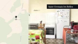 A vendre - Maison/villa - Saint Germain les Belles (87380) - 6 pièces - 115m²
