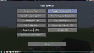 Minecraft Setting Information and Best Graphic Setting