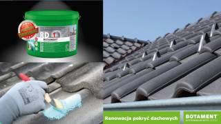 Botament RD1 izolacja tarasów pod płytkę, deskę, izolacja fundamentów, piwnic, naprawa dachów