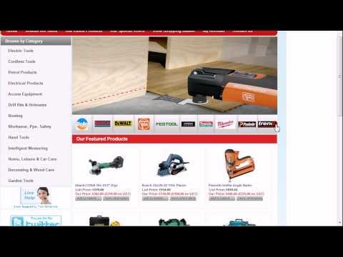 ToolBritannia New Power Tool Website