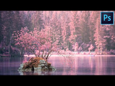 Create a Infrared Effect | Photoshop Tutorial thumbnail