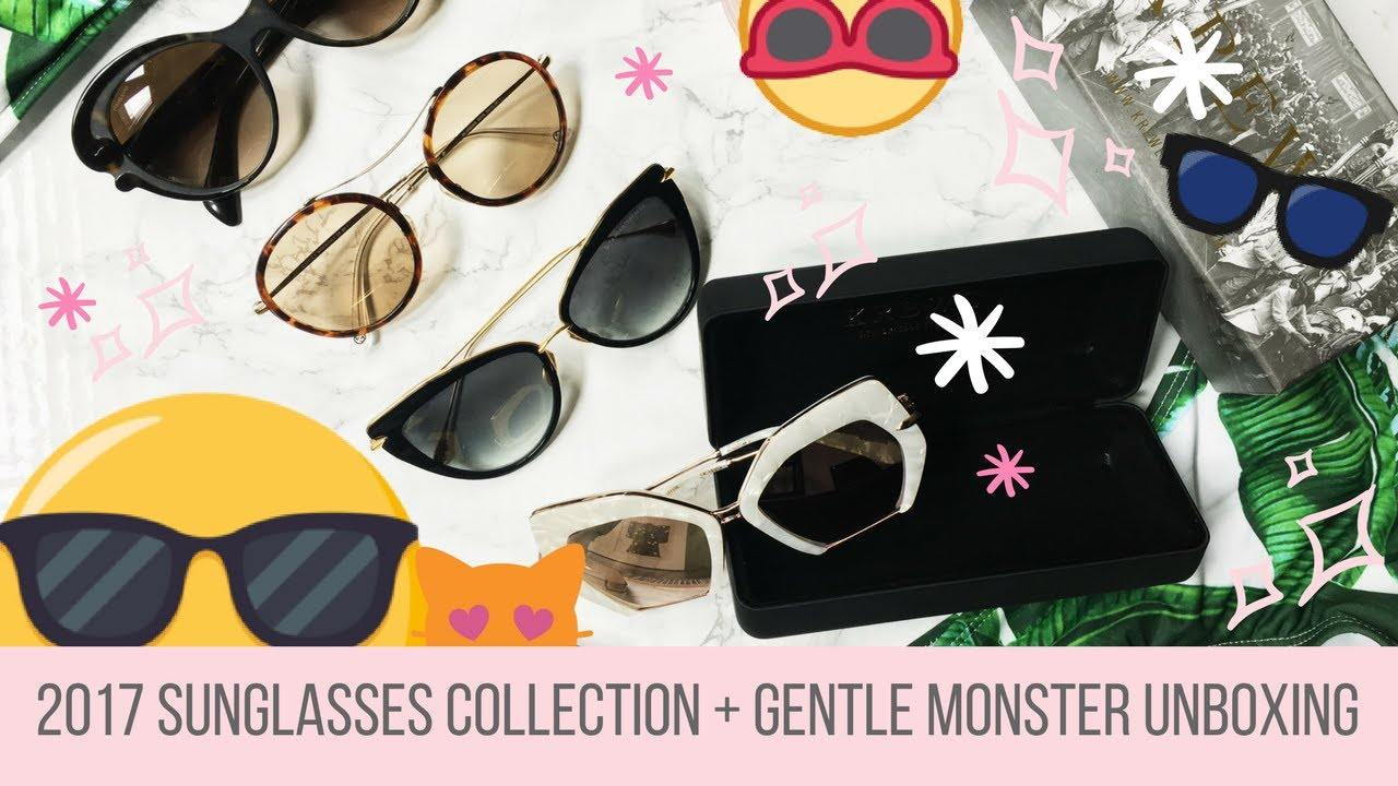 fa463a2156 2017 Sunglasses Collection   Gentle Monster Unboxing - YouTube