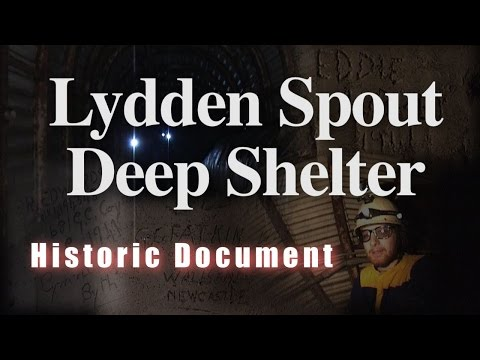 Lydden Spout Deep Shelter (Historic Document)