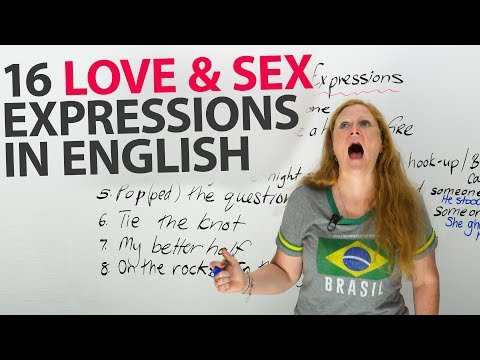dating and relationship idioms
