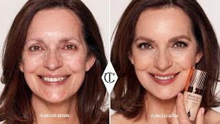 Effortless Makeup for Mature Skin - How to Apply Foundation Flawlessly   Charlotte Tilbury