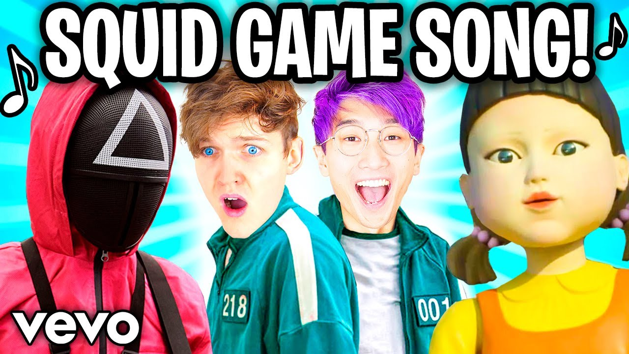 THE SQUID GAME SONG! ? (Official LankyBox Music Video)
